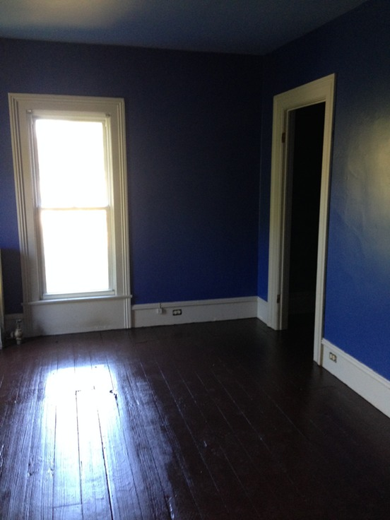 Beautifully painted again large bedroom for sale by owner Floor to ceiling windows for sale